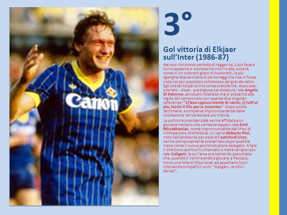 3° Gol vittoria di Elkjaer sull'Inter (1986-87) Nel suo non breve periodo di reggenza, Uzzo fece a turno apparire e scomparire intorno alla società, c