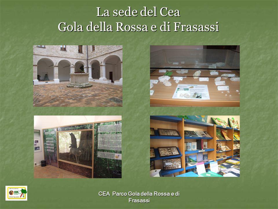 CEA Parco Gola della Rossa e di Frasassi La sede del Cea Gola della Rossa e di Frasassi