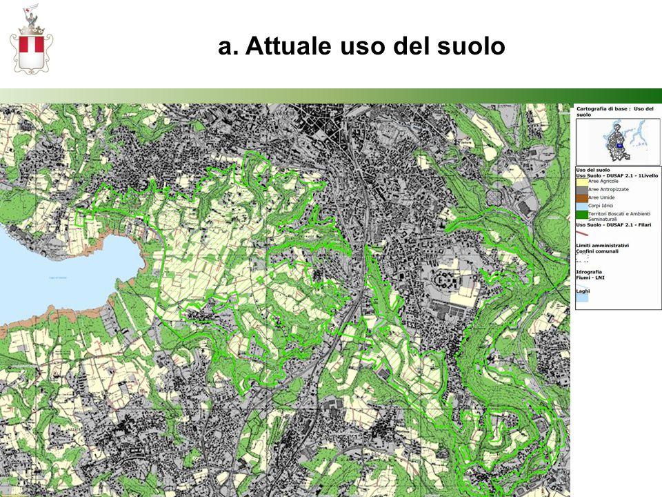 a. Attuale uso del suolo