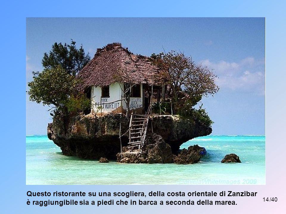 13 /40 L'isola di Lamu (Oceano Indiano) è un paradiso perduto raggiungibile solo via mare.