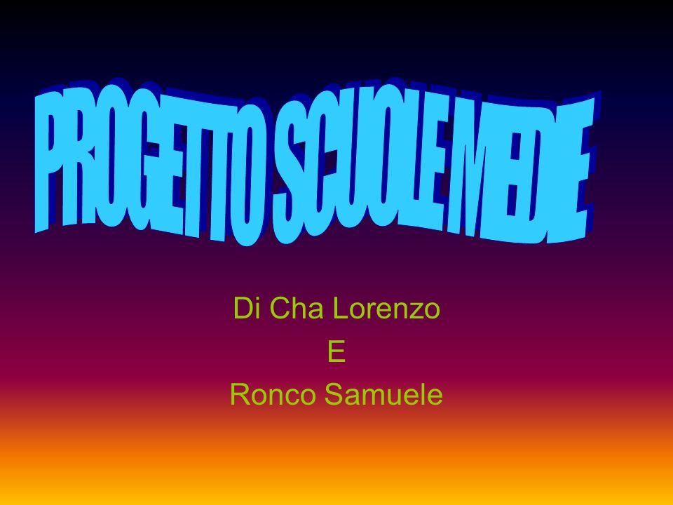 Di Cha Lorenzo E Ronco Samuele