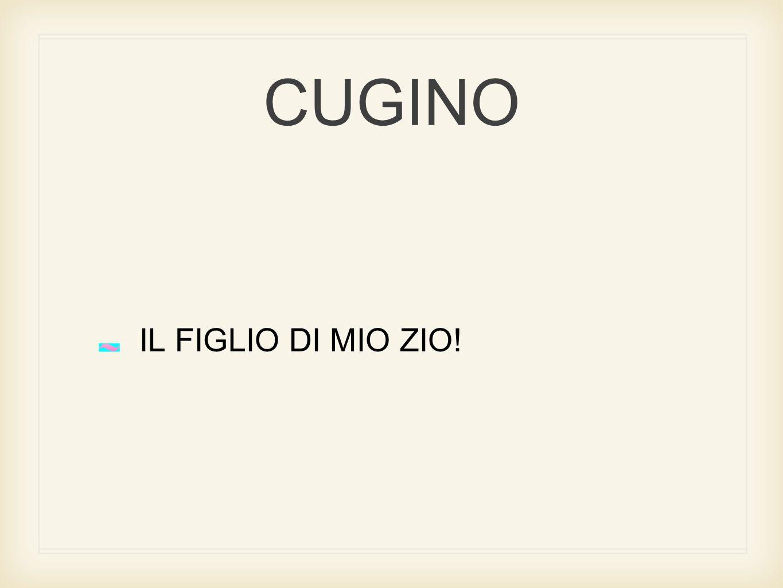 CUGINO IL FIGLIO DI MIO ZIO!