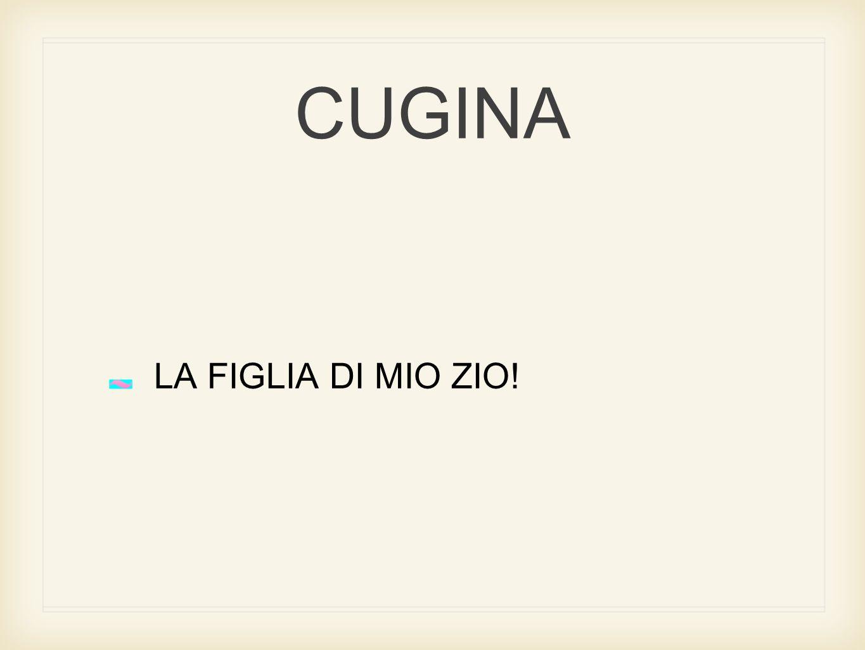 CUGINA LA FIGLIA DI MIO ZIO!