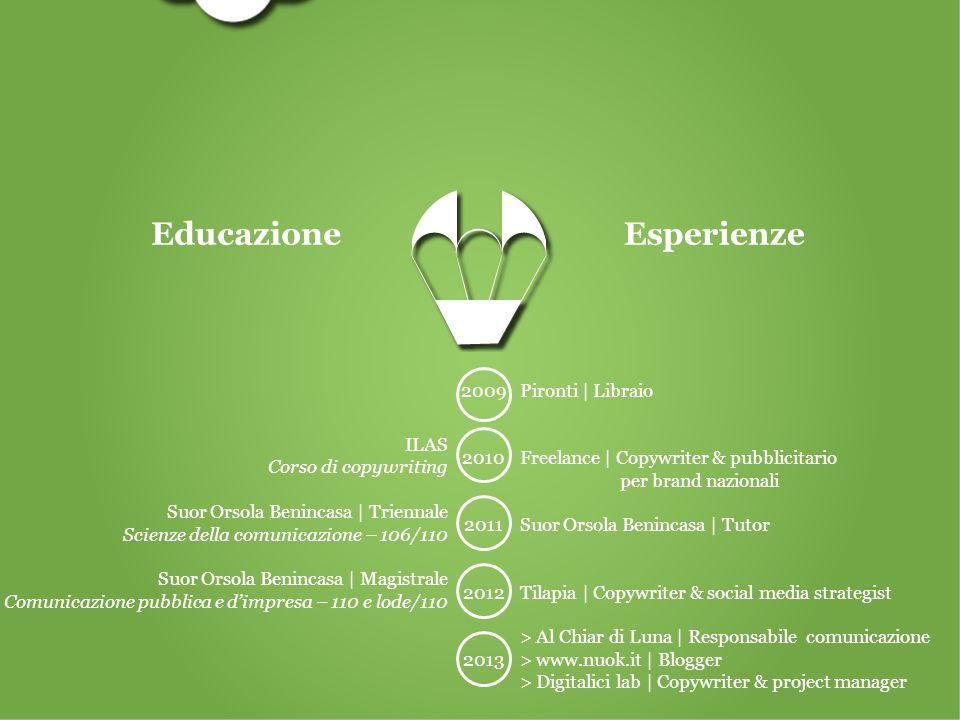 ILAS Corso di copywriting Suor Orsola Benincasa | Triennale Scienze della comunicazione – 106/110 Suor Orsola Benincasa | Magistrale Comunicazione pub