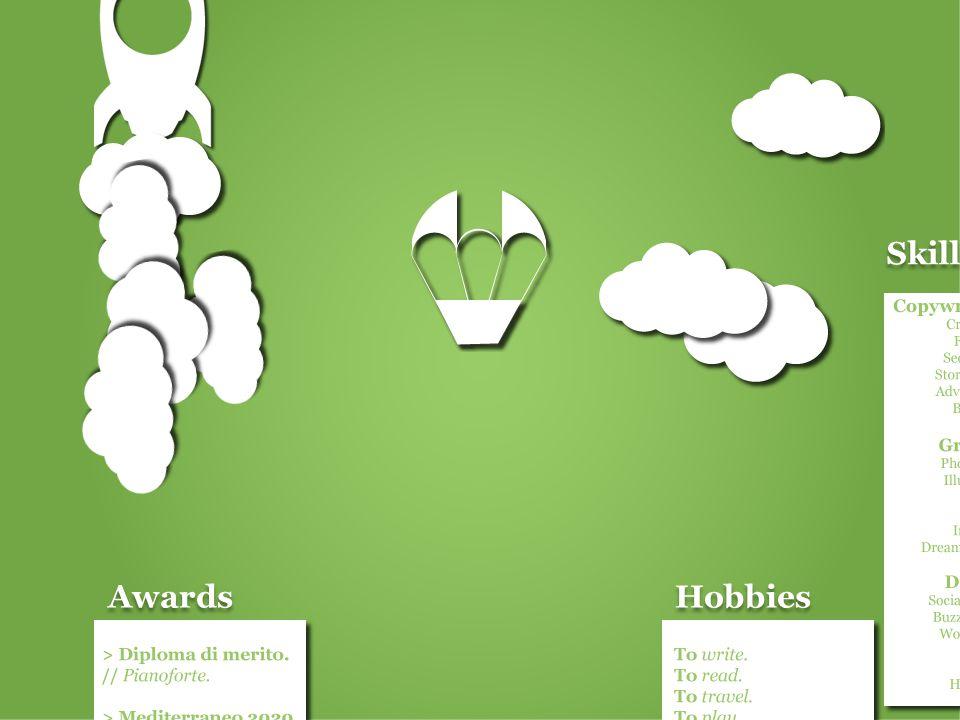 Skills Awards Hobbies