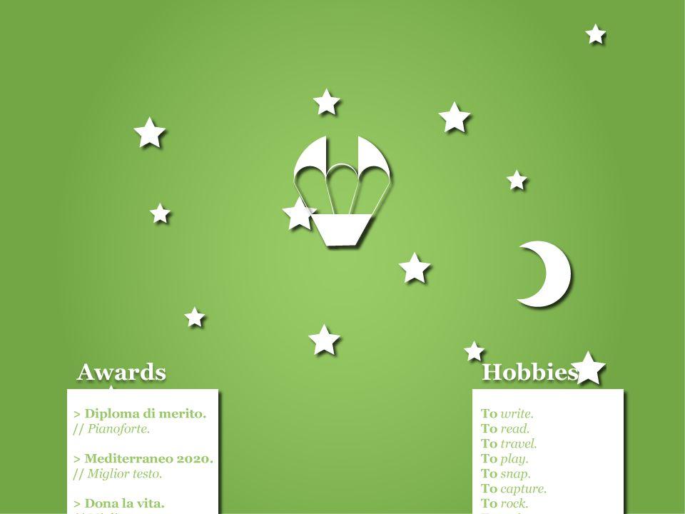 Awards Hobbies