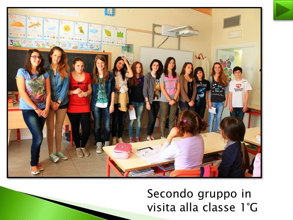 Secondo gruppo in visita alla classe 1°G