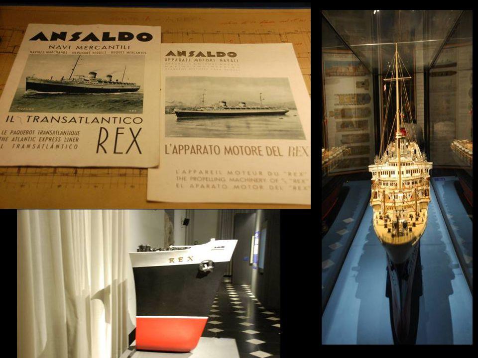 Piroscafo REX- Italia Flotte Riunite Stazza lorda tonnellate 51062 Varato nell'1931- Completato all'OARN nell'1932