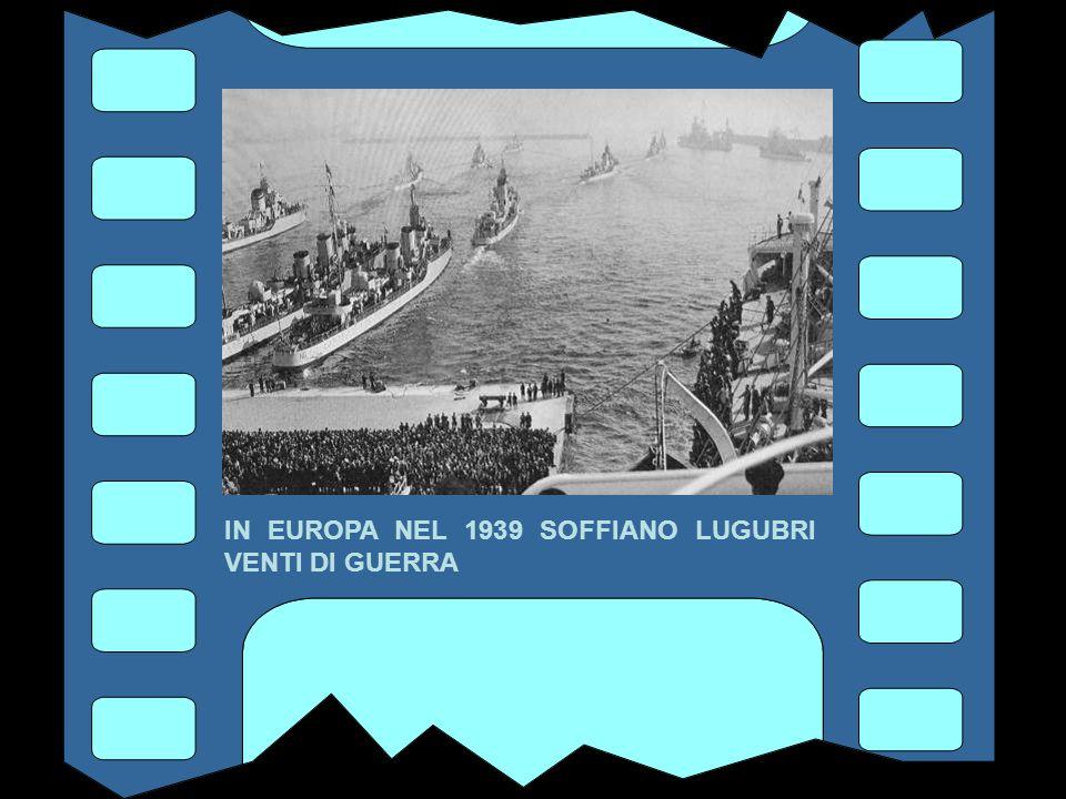 ANNO 1939 LA GUERRA INCOMBE