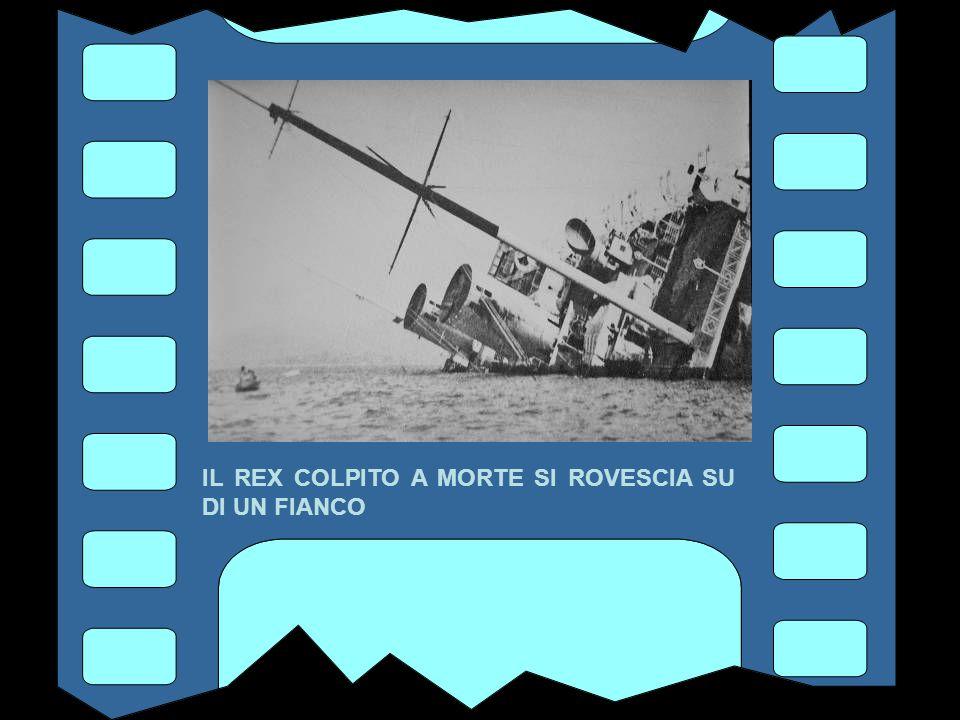 L' 8 SETTEMBRE 1944 VIENE BOMBARDATO DALL' AVIAZIONE ALLEATA CON BOMBE E RAZZI INCENDIARI