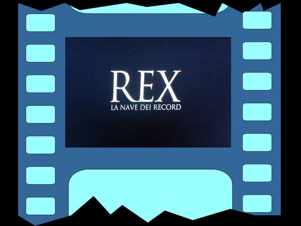 QUESTA E' LA STORIA DEL REX PRESENTATA IN UN FILMATO NELLA MOSTRA A PALAZZO DUCALE A GENOVA
