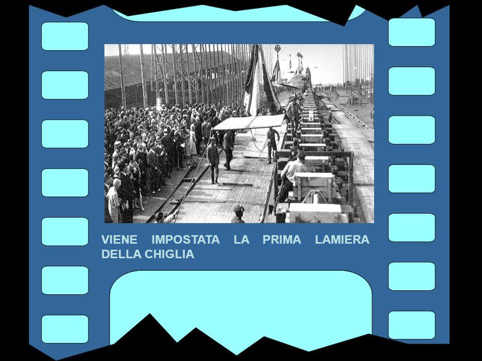 IL 28 APRILE 1930 CON LA BENEDIZIONE DEL VESCOVO ALLA PRESENZA DELLE AUTORITA'...