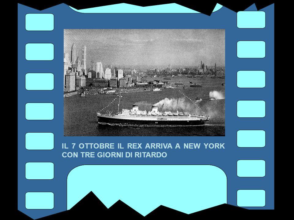 L' ARRIVO A NEW YORK