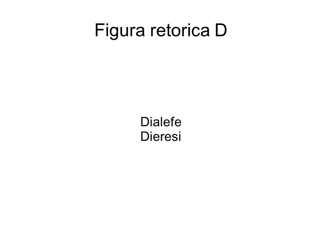 Dialefe Figura metrica che consiste nella mancata fusione, nel computo, di una sillaba di fine parola con un altra di inizio parola