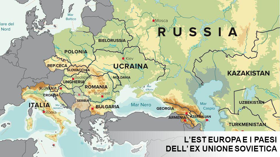 SLOVENIA L'EST EUROPA E I PAESI DELL' EX UNIONE SOVIETICA