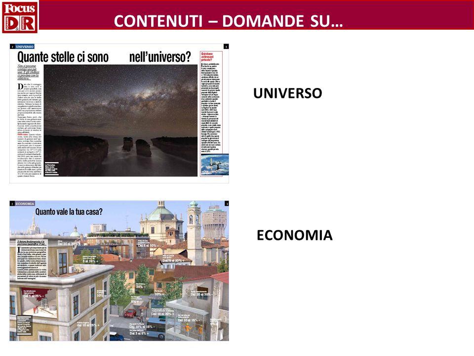 UNIVERSO ECONOMIA CONTENUTI – DOMANDE SU…