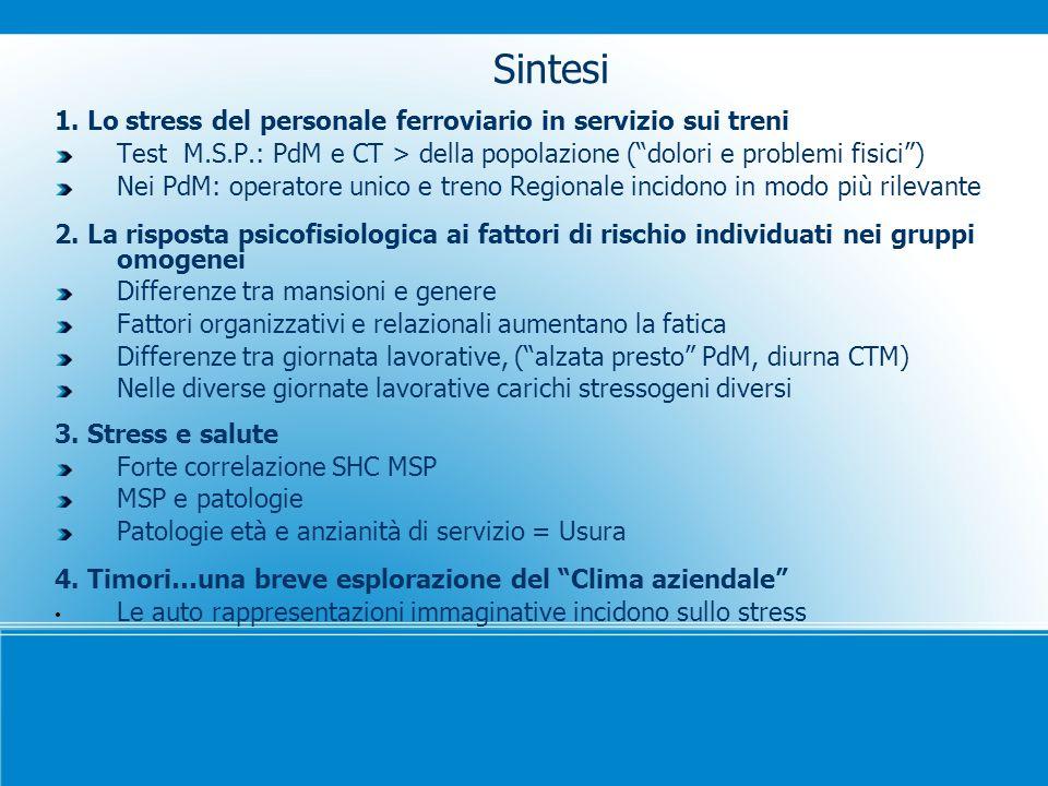 Lo stress lavoro correlato negli autisti TPL a Roma: una ricerca-intervento partecipante ad orientamento psicofisiologico Cattedra Psicofisiologia Clinica Sindacato USB