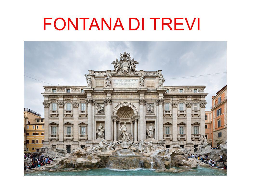 La Fontana di Trevi è la più grande ed una fra le più note fontane di Roma; è considerata una delle più celebri fontane del mondo.