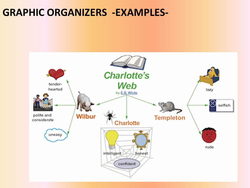 GRAPHIC ORGANIZERS -EXAMPLES-
