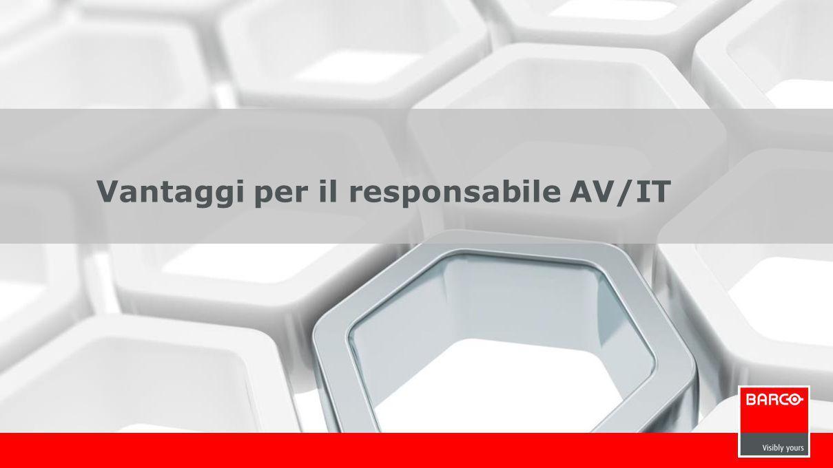 12 Vantaggi per il responsabile AV/IT