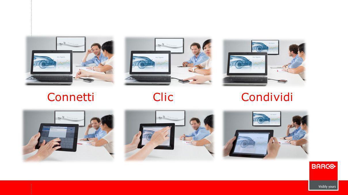 Connetti Clic Condividi
