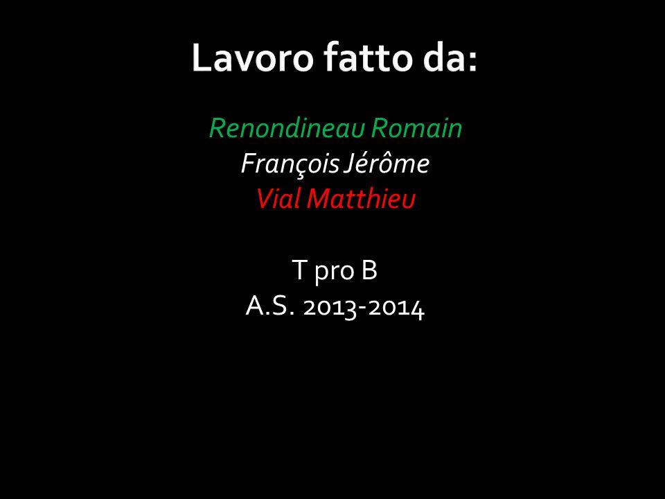 Renondineau Romain François Jérôme Vial Matthieu T pro B A.S. 2013-2014