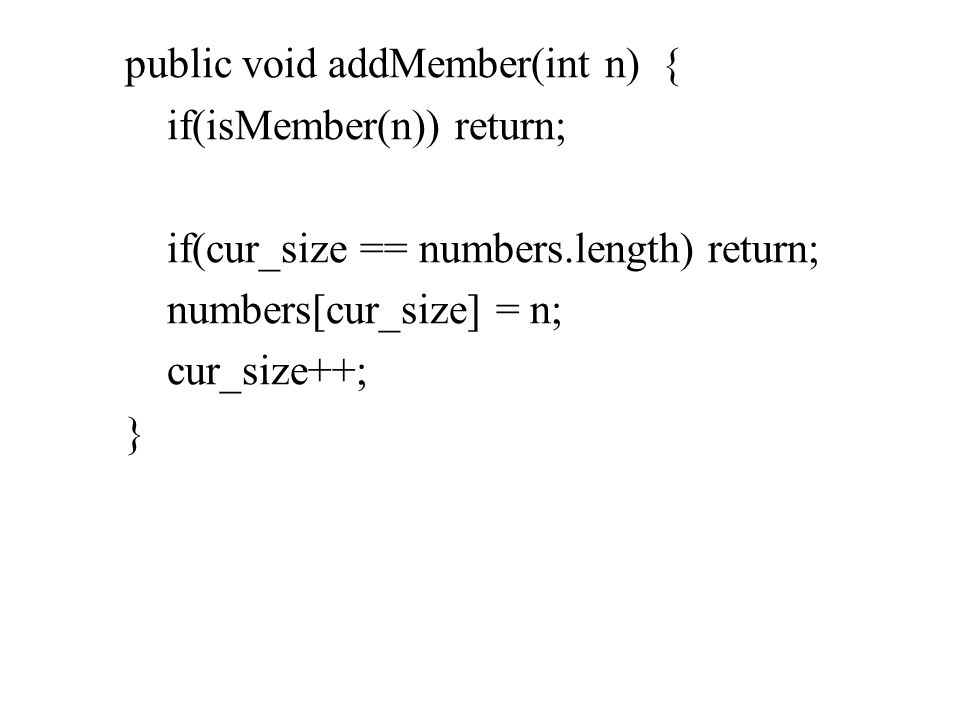 public String toString(){ return cognome+ +nome; } public boolean equals(Singer s) { return cognome.equals(s.getCognome()) && nome.equals(s.getNome()) && canzone.equals(s.getCanzone()) && dataDiNascita.equals(s.getDataDiNascita())&& luogoDiNascita.equals(s.getLuogoDiNascita()); }