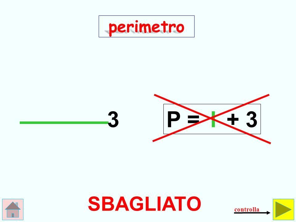 Come si calcola il perimetro del triangolo equilatero.