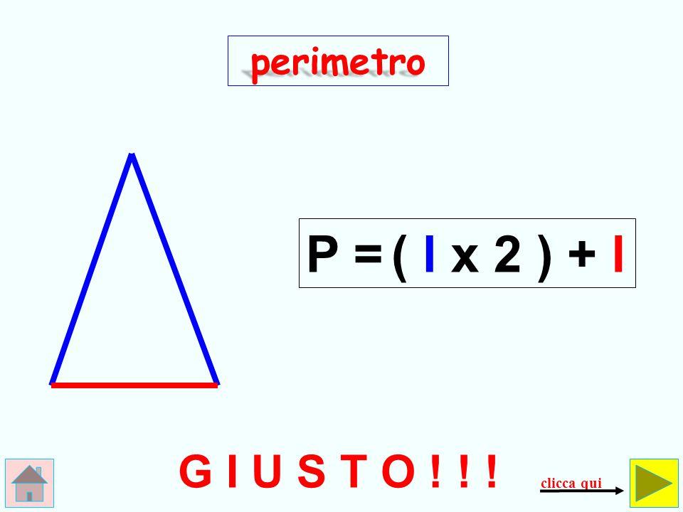 l x 3 Somarello ! ! ! perimetro P = controlla