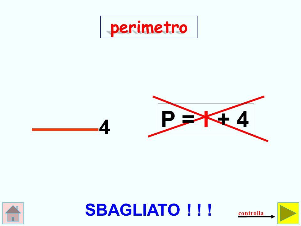 Qual è il perimetro del quadrato.