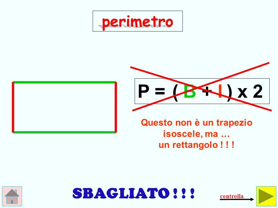 Qual è il perimetro del trapezio isoscele.