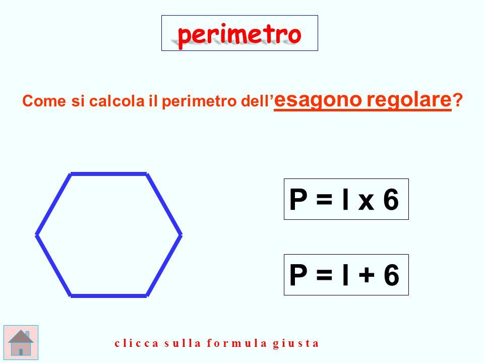 Il perimetro del deltoide è calcolato come quello del rettangolo e del romboide.