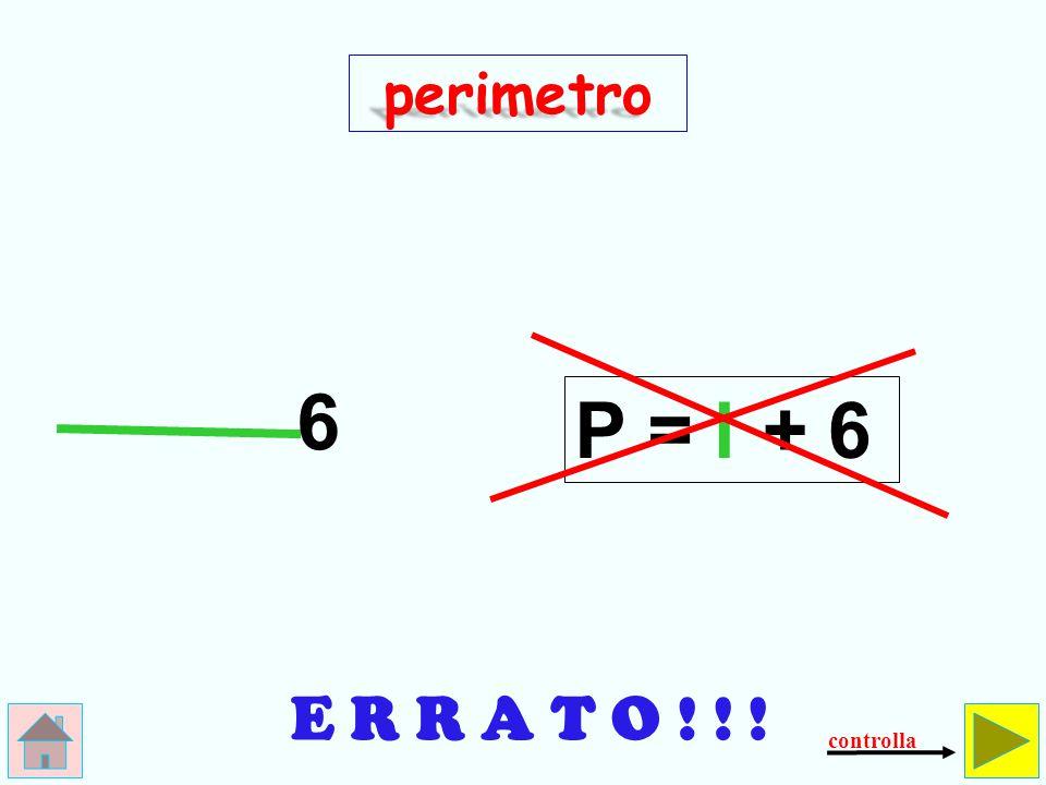 Come si calcola il perimetro dell' esagono regolare .