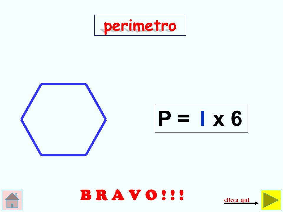 E R R A T O ! ! ! 6 perimetro P = l+6 controlla