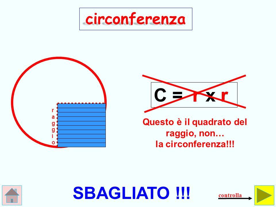 Come si calcola il perimetro la circonferenza del cerchio.