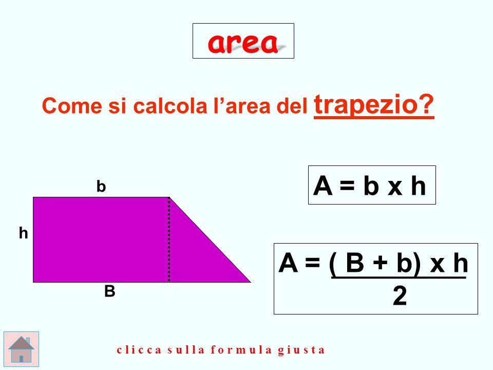 GIUSTO !!.Il romboide equivale a un rettangolo che ha la stessa base e… la stessa altezza.