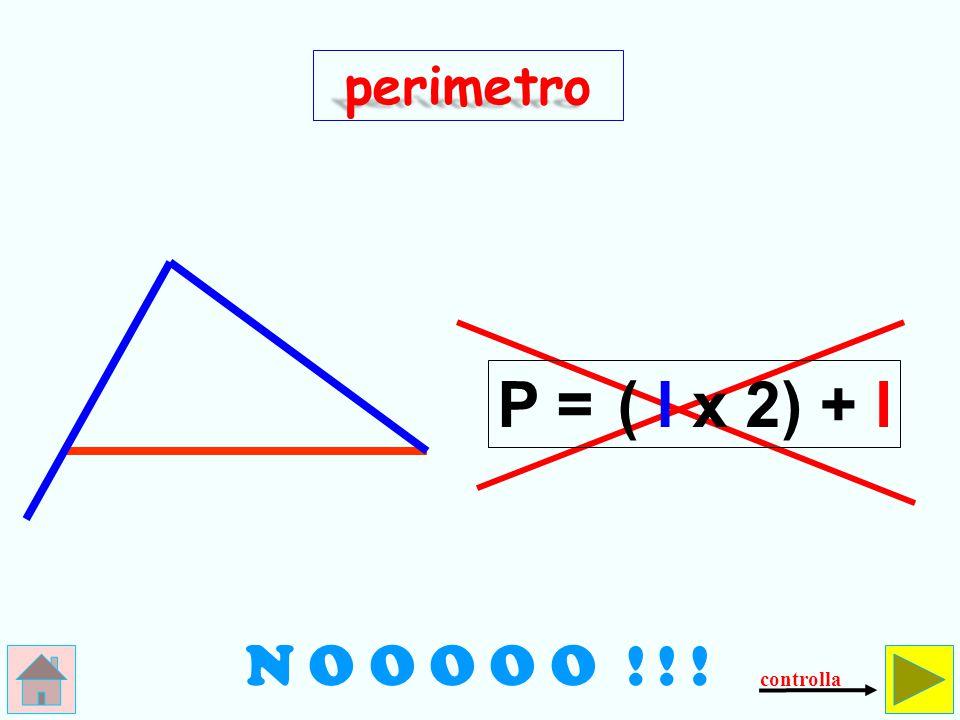 perimetro Come si calcola il perimetro del triangolo scaleno.