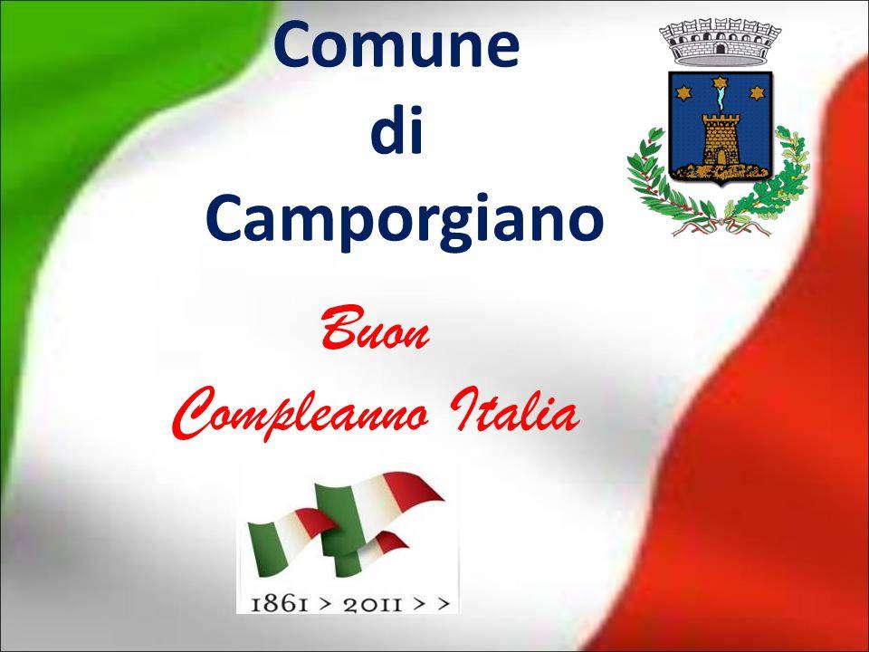Comune di Camporgiano Buon Compleanno Italia