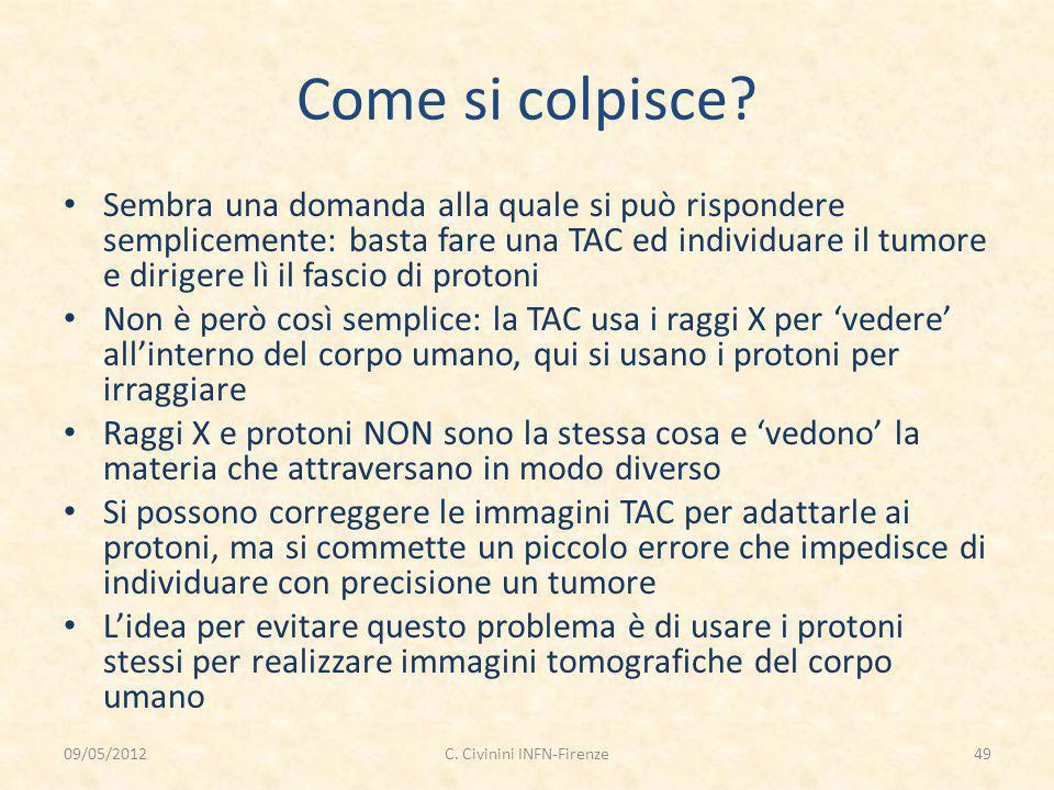 Come si colpisce.