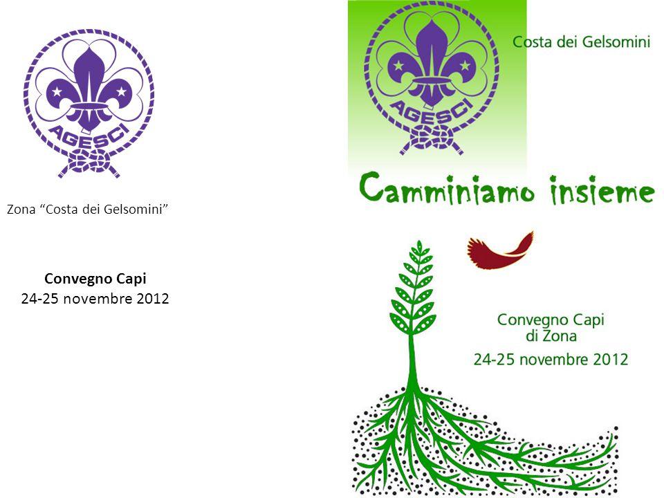 """Zona """"Costa dei Gelsomini"""" Convegno Capi 24-25 novembre 2012"""