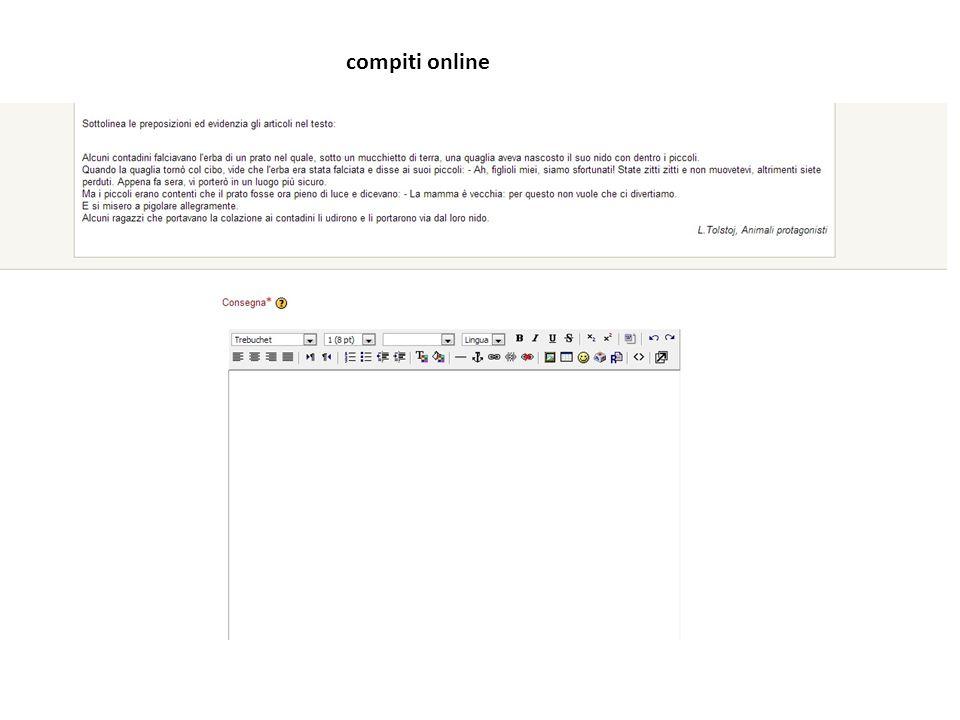 compiti online