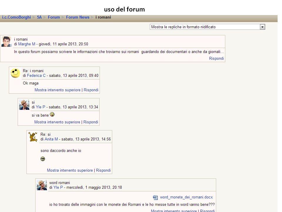 uso del forum