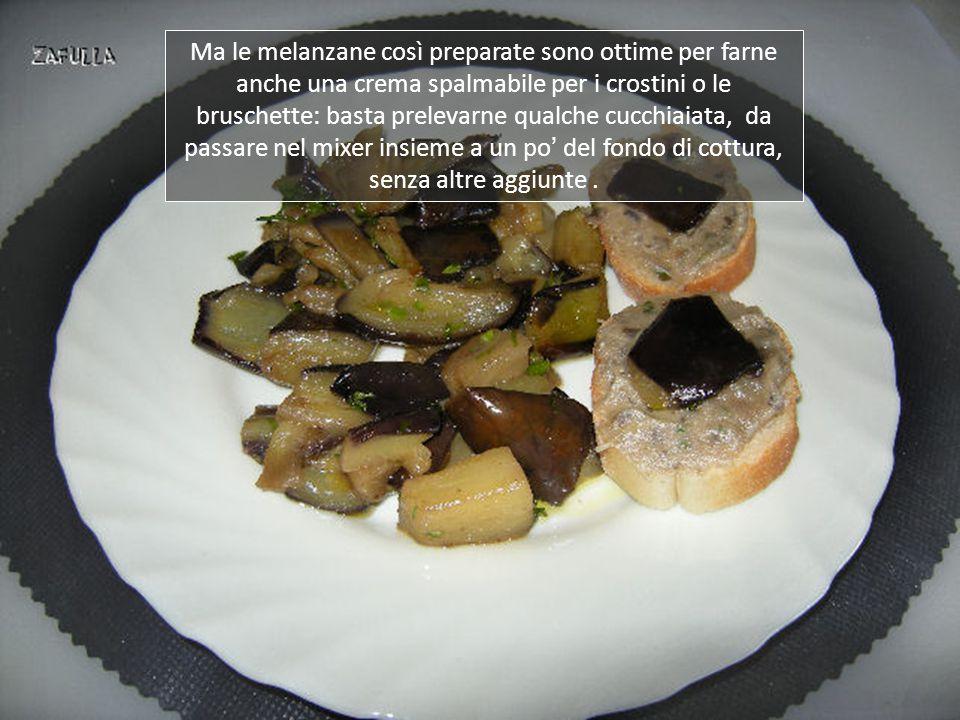 Ecco il piatto finito, davvero semplice da fare e gustoso condimento per la pasta corta, o contorno per un piatto di carni o formaggi alla piastra.