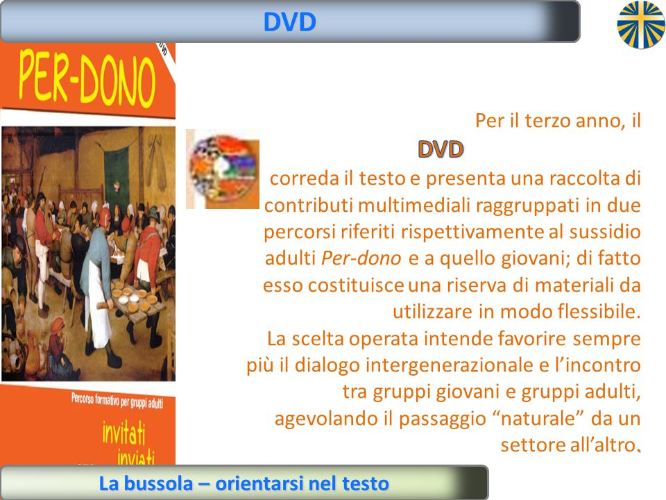 La bussola – orientarsi nel testo DVD
