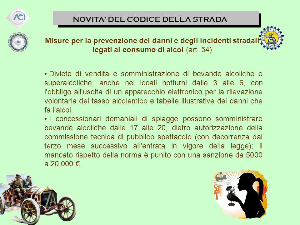 NOVITA' DEL CODICE DELLA STRADA Contrassegni su veicoli di persone invalide (art.