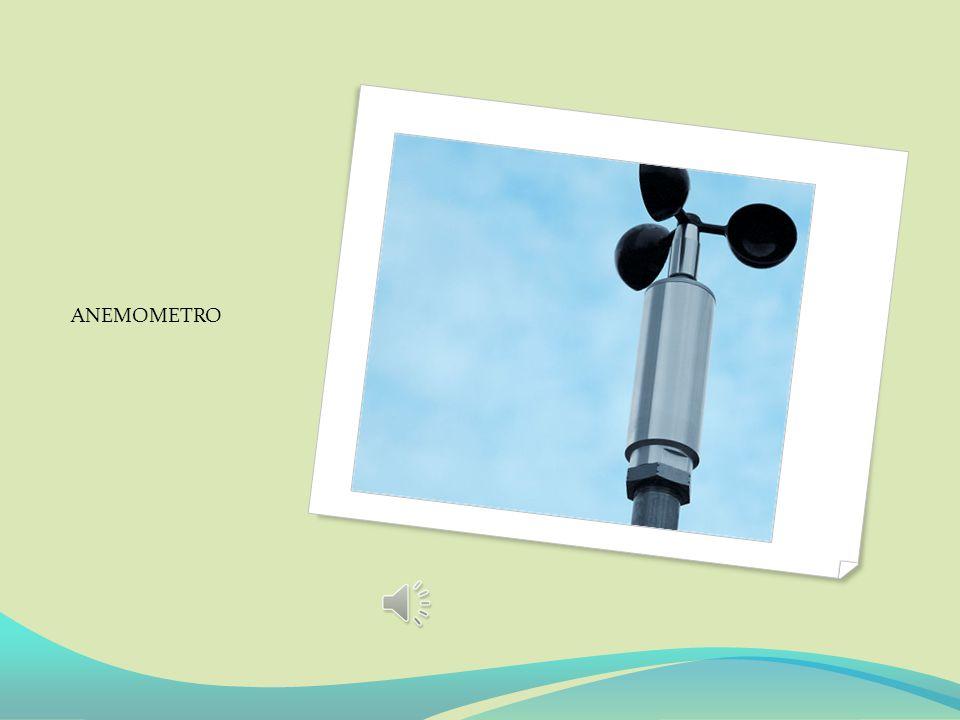 Costruire un anemometro ed un igrometro La velocità del vento si misura generalmente con l'anemometro a coppe che è composto da 3 o 4 bracci posti a 1
