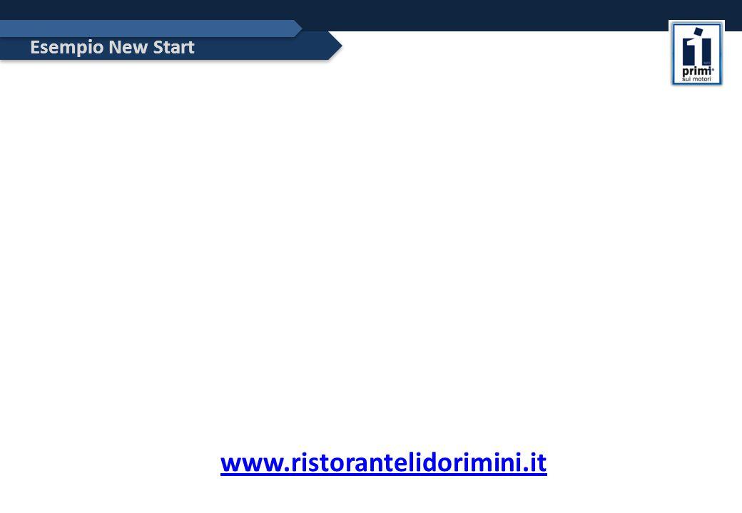 Esempio New Start www.ristorantelidorimini.it