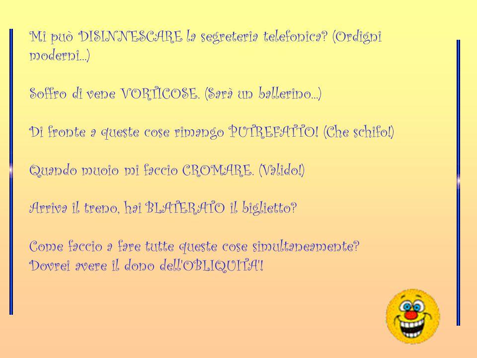 L' Italiano questo sconosciuto !!!