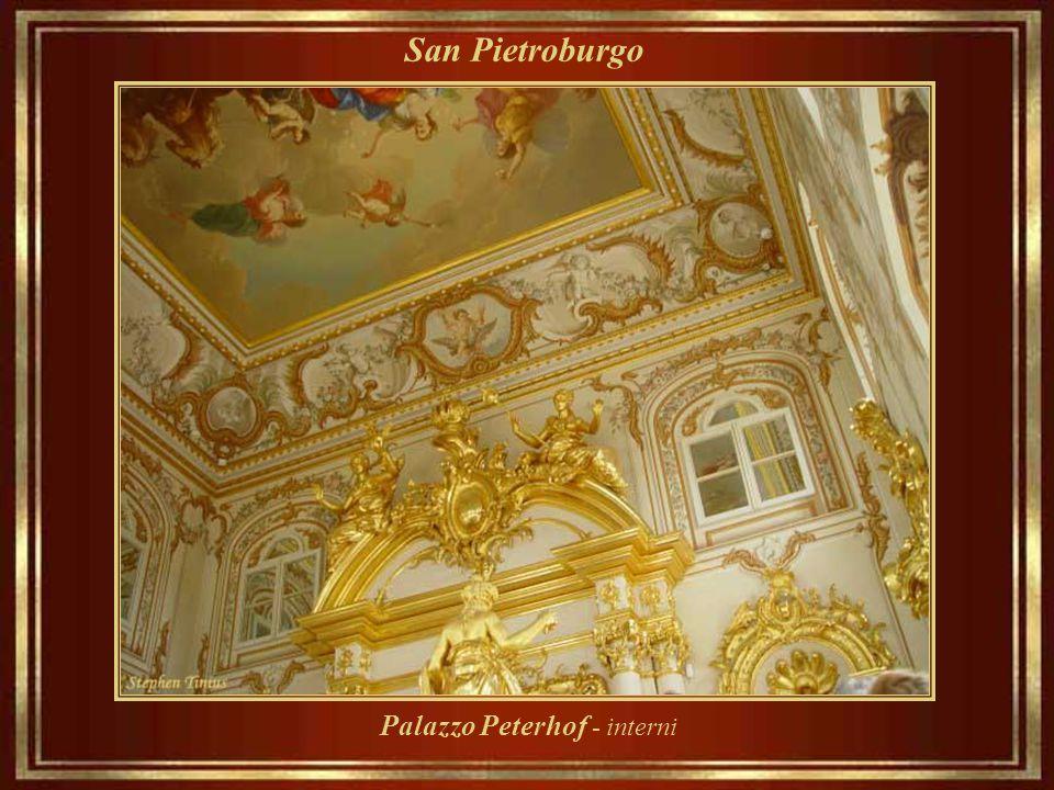 San Pietroburgo Palazzo Peterhof - interni
