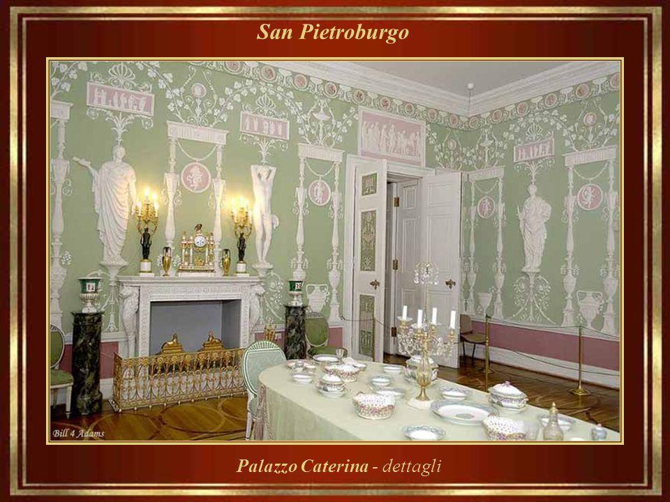 San Pietroburgo Palazzo Caterina - dettagli